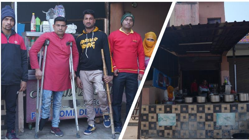 Story of sheer determination, 7 physically challenged friends when denied employment, started first restaurant of India with all disabled staff.